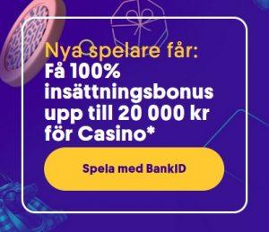 20 000 kr bonus hos Casumo Casino!