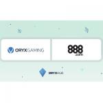 Spelavtal mellan 888casino och ORYX Gaming!
